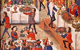 Banquets médiévaux